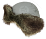 Шапка-ушанка NordKapp Badger MX Light Grey арт. 527