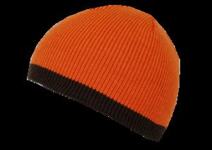 Шапка NordKapp трикотажная reversible арт. 208 (green/ orange)