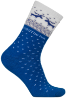 "Носки NordKapp арт. 515-S dark blue Коллекция ""Норвежские звезды"""