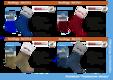 "Носки NordKapp арт. 515 dark blue Коллекция ""Норвежские звезды"""