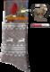 "Носки NordKapp арт. 517 Beige Коллекция ""Норвежские звезды"""