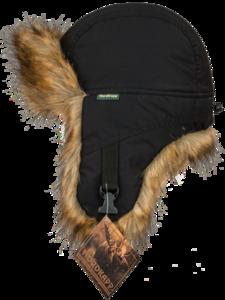 Шапка-ушанка Malselv Canadian Fox black арт. 533